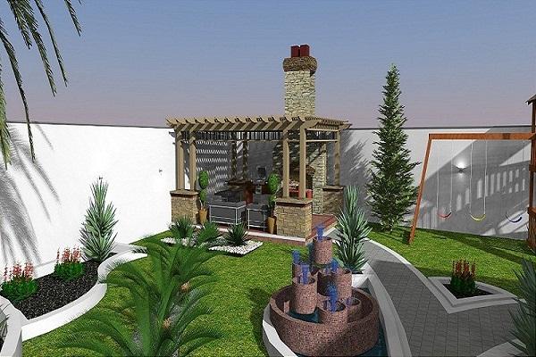 تنسيق حدائق حي باب المجيدي